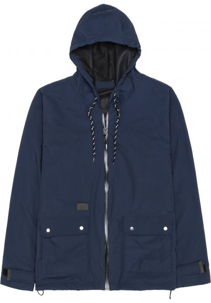Reell Übergangsjacken All Season Jacket navy Vorderansicht