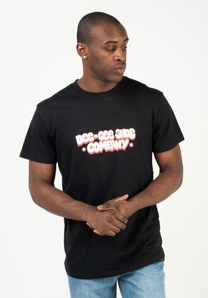 DC Shoes T-Shirts Dee Cee black vorderansicht 0323301