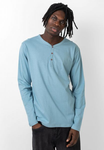 Rules Longsleeves Peter bluegrey vorderansicht 0383180