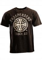 Independent-T-Shirts-Inked-Cross-concrete-black-Vorderansicht