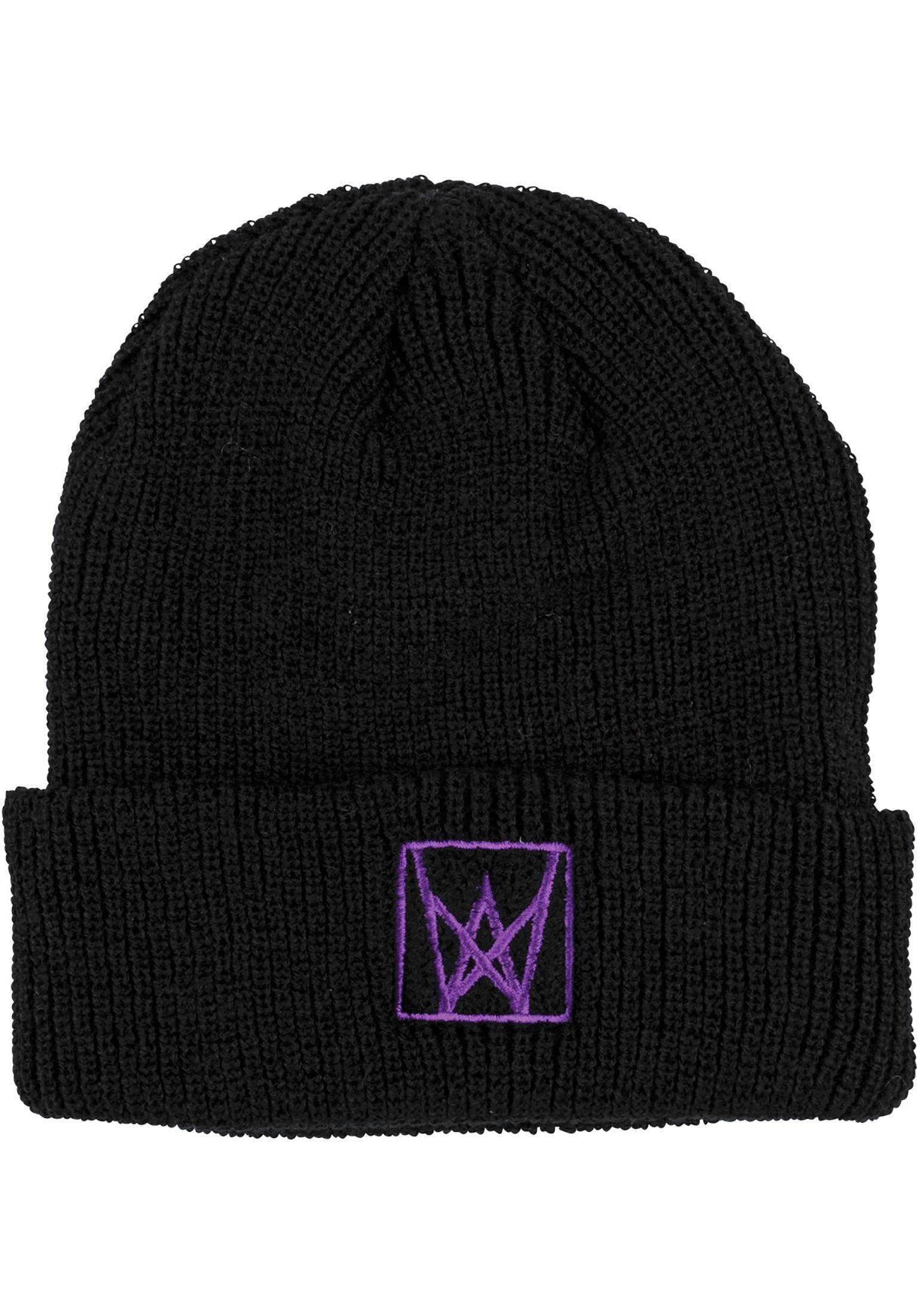 b15dcdfd361 Icon Cuff Welcome Beanies in black-purple for Men