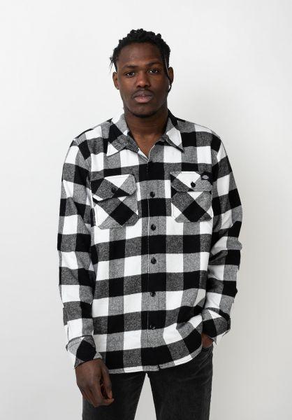 Dickies Hemden langarm Sacramento black vorderansicht 0411126