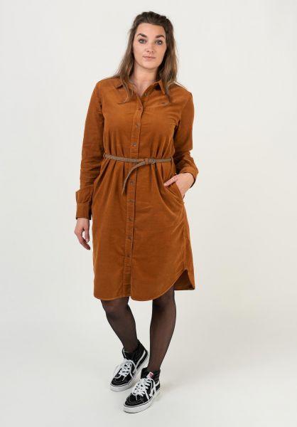 Ragwear Kleider Adamma pumpkin 320 vorderansicht 0801551
