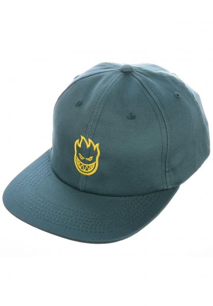 Spitfire Caps Lil Bighead teal-yellow vorderansicht 0566114