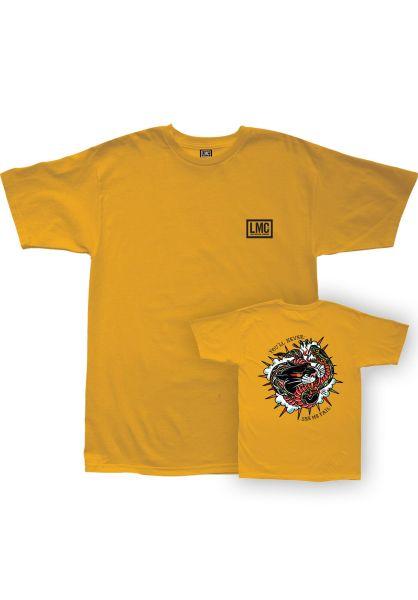 Loser-Machine T-Shirts Never Fail gold vorderansicht 0320844