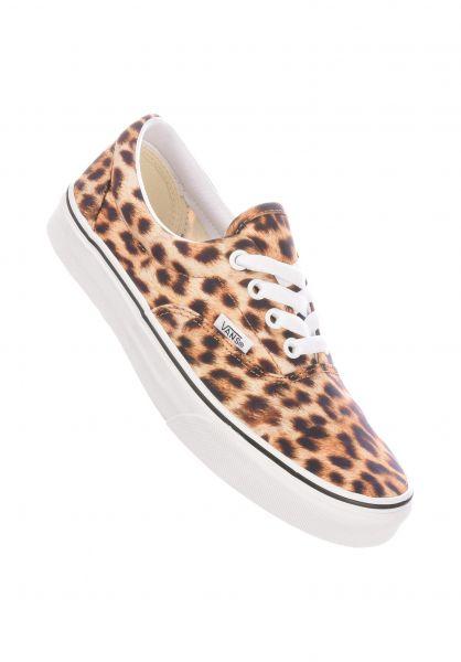 Vans Alle Schuhe Era leopardblack-truewhite vorderansicht 0610463