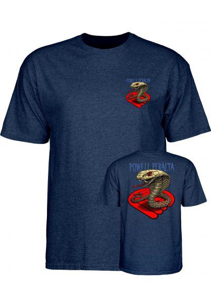 Powell-Peralta T-Shirts Cobra navy Vorderansicht