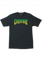 Creature T-Shirts Logo tar Vorderansicht