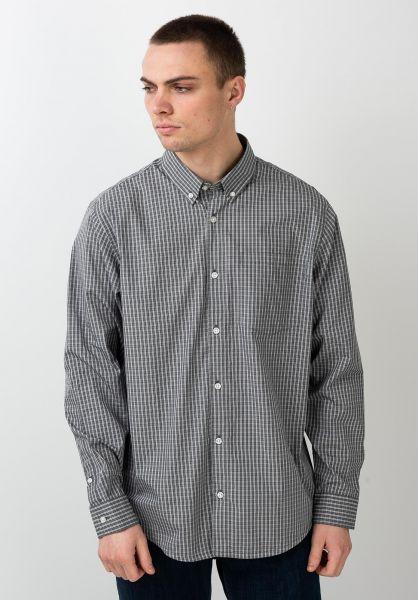 Carhartt WIP L//S Button Down Pocket Shirt Black Hemd Langarm