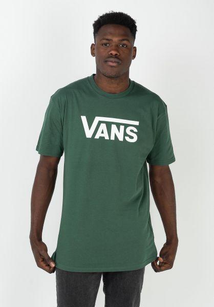Vans T-Shirts Classic pineneedle vorderansicht 0361788
