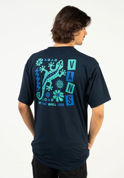 Vans T-Shirts Crawling navy vorderansicht 0324236
