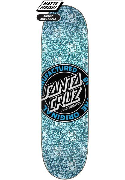 Santa-Cruz Skateboard Decks MFG Dot Boats medium vorderansicht 0263841