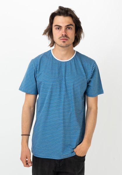 Ezekiel T-Shirts Martini blue vorderansicht 0322322