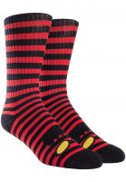 toy-machine-socken-monster-face-mini-stripes-crew-red-vorderansicht-0134861