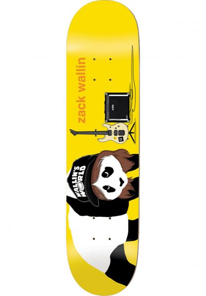 Enjoi Skateboard Decks Wallin Alter Ego R7 yellow vorderansicht 0262606