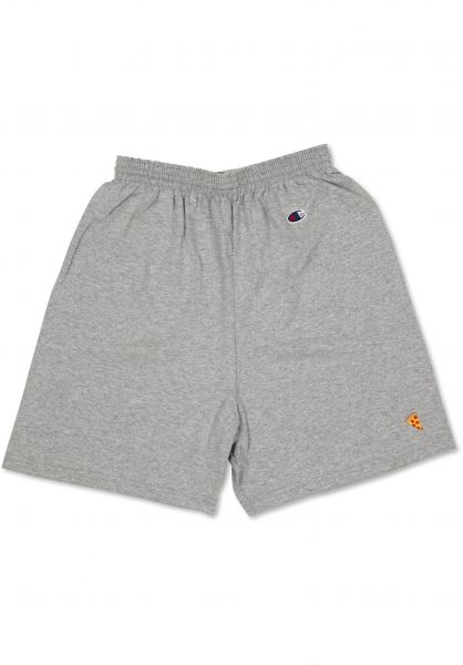 Pizza Skateboards Shorts Emoji Champion Shorts greymottled Vorderansicht