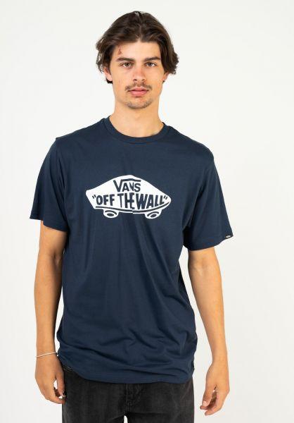 Vans T-Shirts OTW dressblues-white vorderansicht 0036985