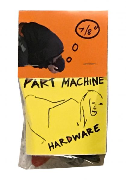 """Party Animal Part Machine Montagesätze 7/8""""-Phillips black vorderansicht 0196244"""