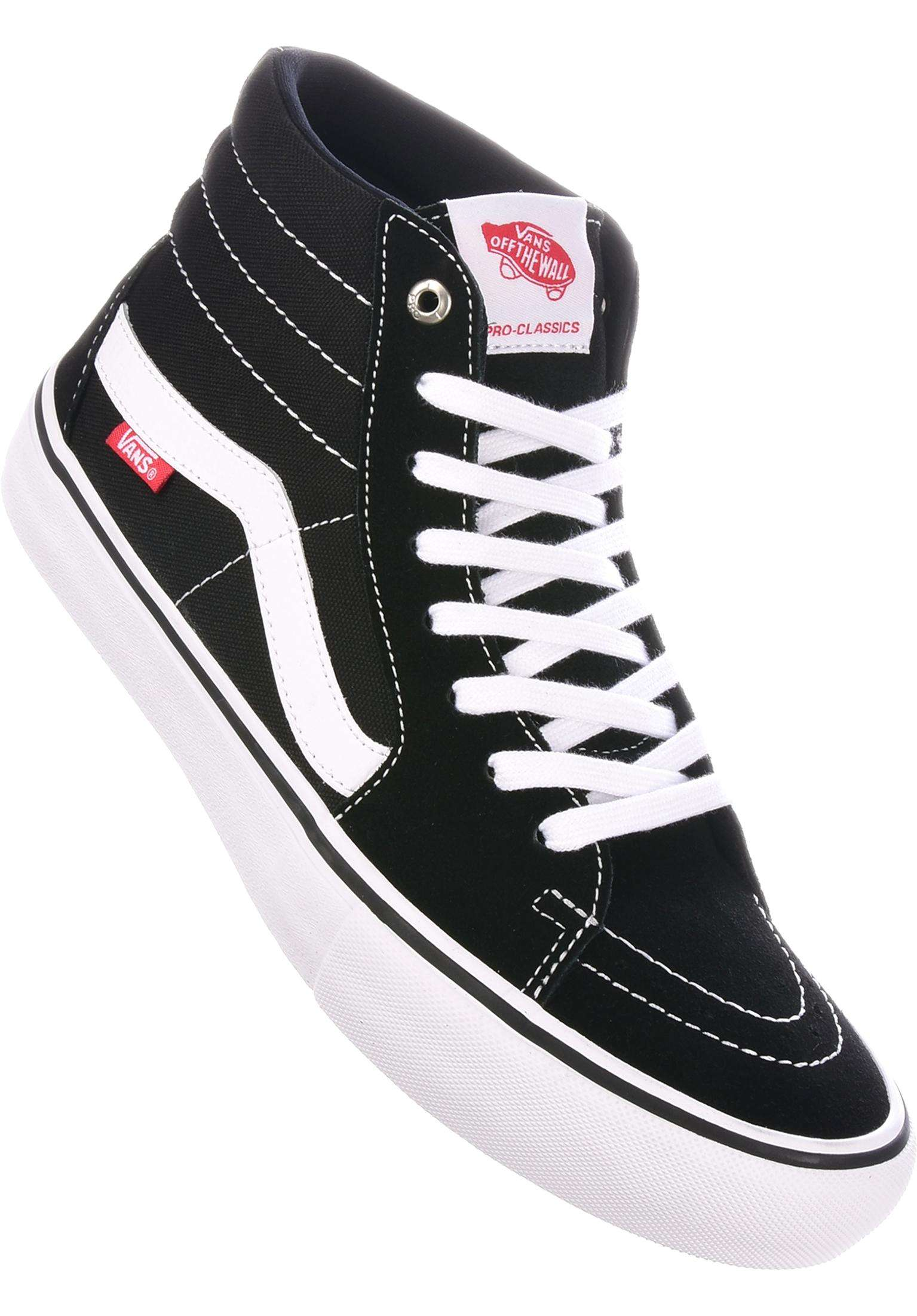 41a70319613b Sk8 Hi Pro Vans All Shoes in black-white for Men