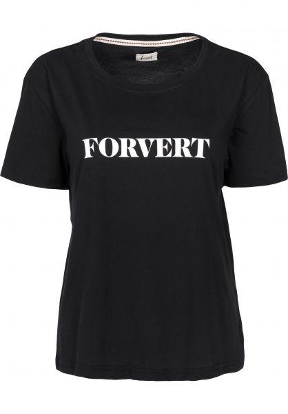 Forvert T-Shirts Dodo black Vorderansicht