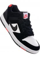 Nike SB Alle Schuhe Air Force II Low black-black-white Vorderansicht