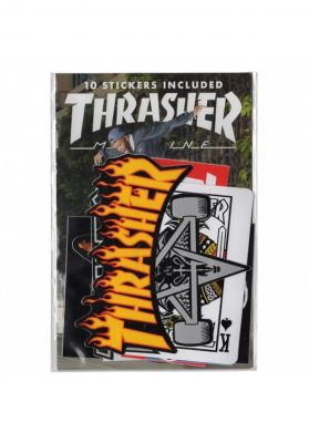Thrasher Sticker 10er
