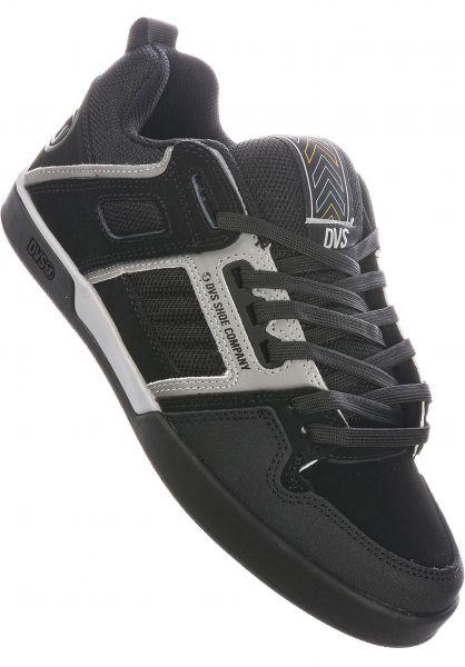 DVS Alle Schuhe Comanche 2.0+ black-grey vorderansicht 0604826