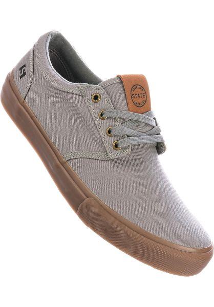 State Alle Schuhe Elgin Canvas midgrey-gum vorderansicht 0604870