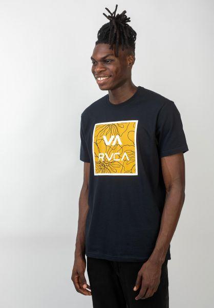 RVCA T-Shirts VA All The Ways Multi fadedblack vorderansicht 0320617