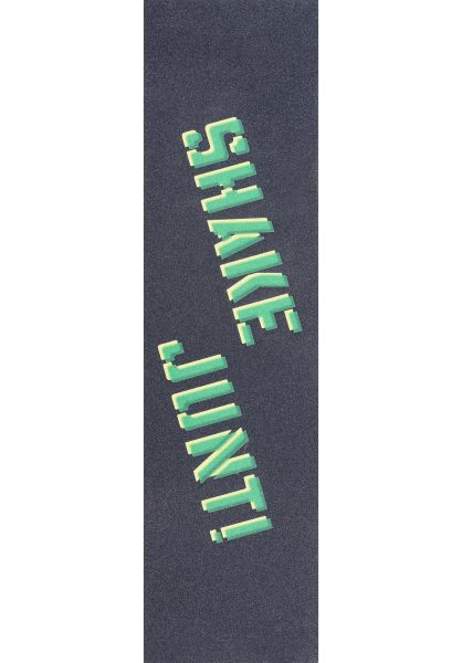 Shake-Junt Griptape Sprayed black-green vorderansicht 0140684