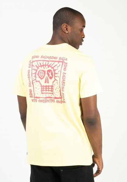 Billabong T-Shirts Bad Billy beeswax vorderansicht 0391115