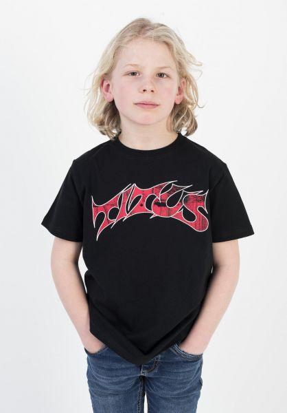 TITUS T-Shirts Schranz Kids black vorderansicht 0373632