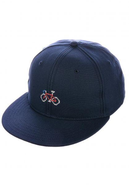 Dedicated Caps Stitch Bike navy vorderansicht 0566633