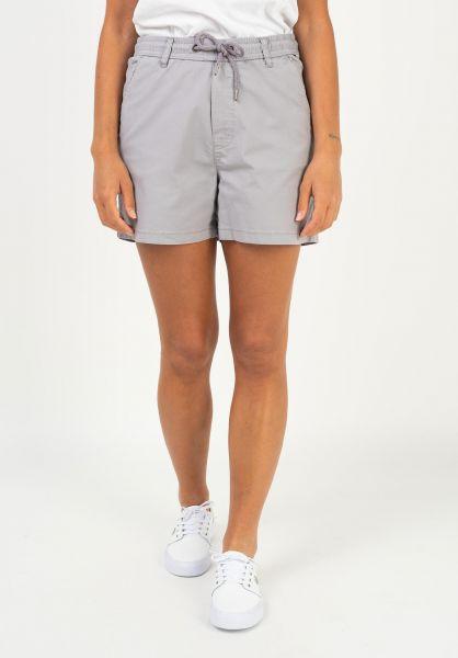 Reell Chinos und Sweatshorts Reflex Women Easy Short purple-grey vorderansicht 0279038