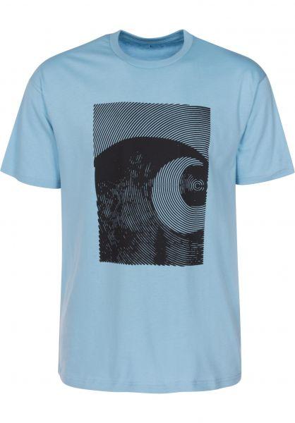 Carhartt WIP T-Shirts Circles capri-black Vorderansicht