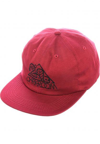 Darkroom Caps OG Red 6-Panel red vorderansicht 0566702