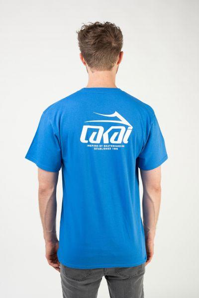 Lakai T-Shirts Inspired royal vorderansicht 0398928