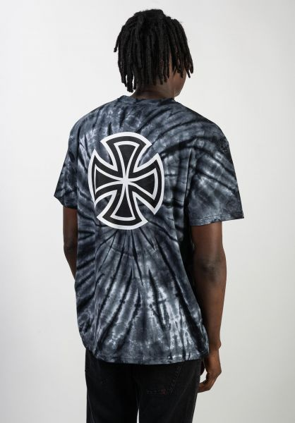 Independent T-Shirts Bar Cross blackspiderwash vorderansicht 0366763