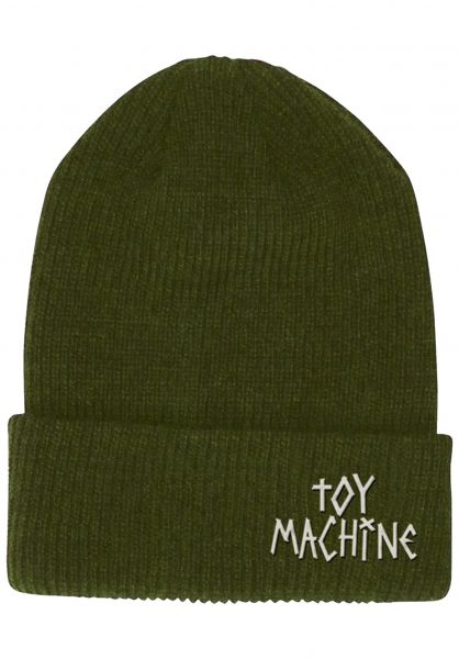 Toy-Machine Mützen Tape Logo army vorderansicht 0572305