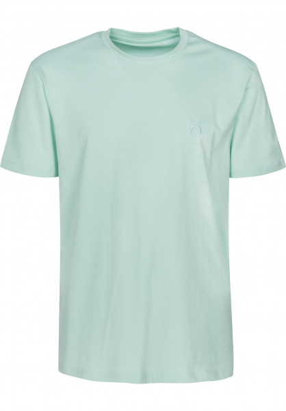 Polar Skate Co T-Shirts Happy Sad dustyaqua Vorderansicht