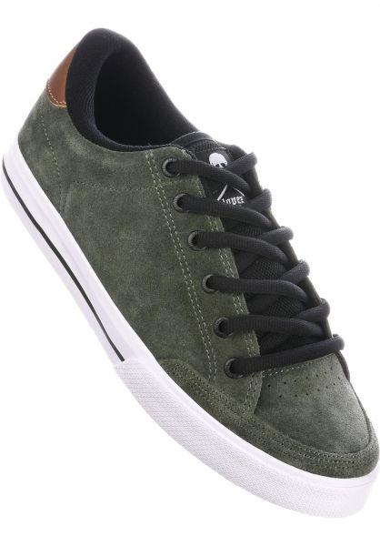 C1RCA Alle Schuhe Lopez 50 olive-black-white Vorderansicht