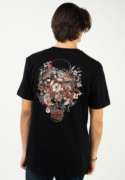 Volcom T-Shirts Fortifem black vorderansicht 0323494