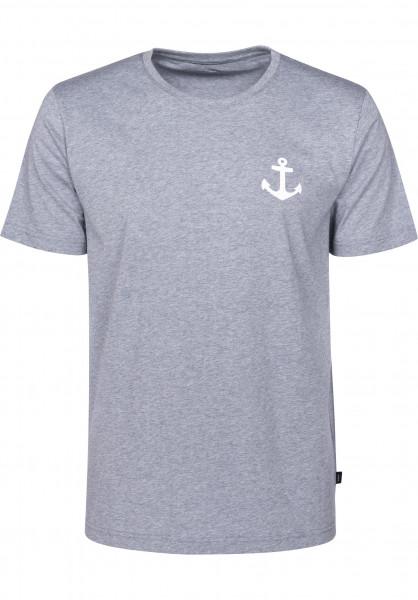 Makia T-Shirts Anchor stone Vorderansicht