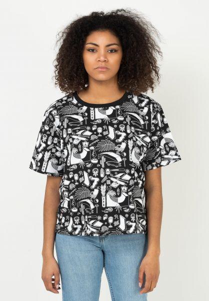 TITUS T-Shirts Everyday Life AO black-ao-pattern vorderansicht 0321954