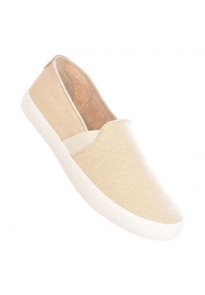 Roxy Alle Schuhe Atlanta II cream vorderansicht 0612440
