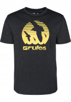 Rules T-Shirts Doves darkgreymottled Vorderansicht