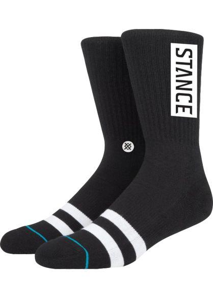 Stance Socken OG black vorderansicht 0632030