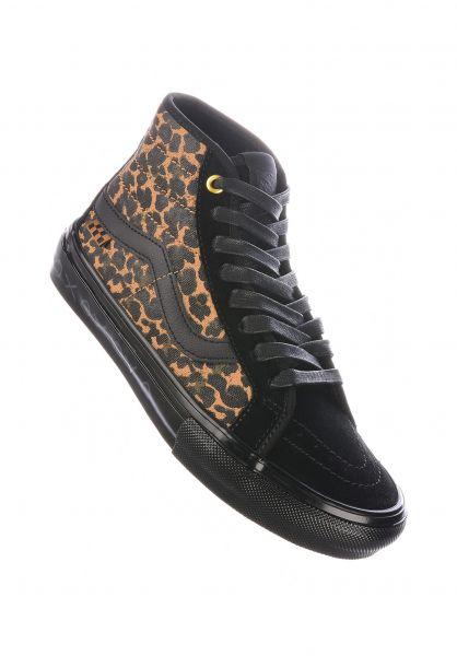 Vans Alle Schuhe Sk8-Hi Cher SKATE cher-strauberry-cheetah vorderansicht 0612582