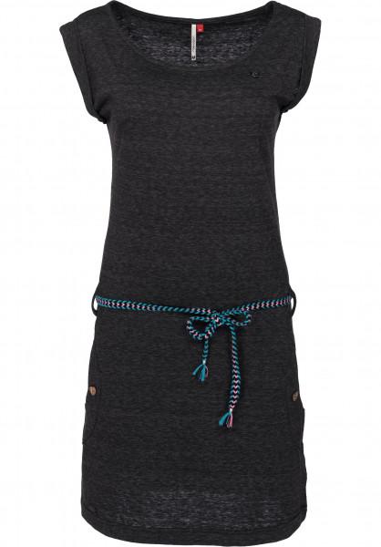 Ragwear Kleider Tag black Vorderansicht