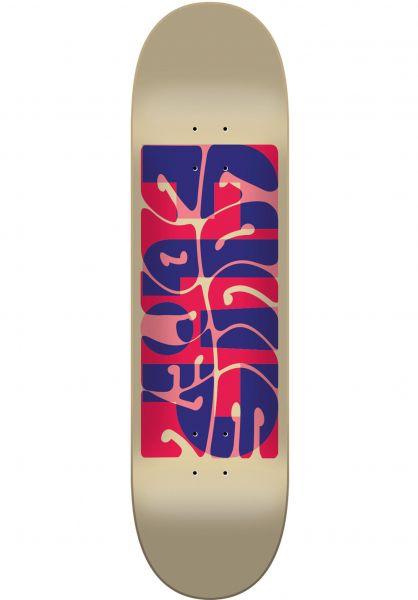 Flip Skateboard Decks Lopez Psyche beige Vorderansicht